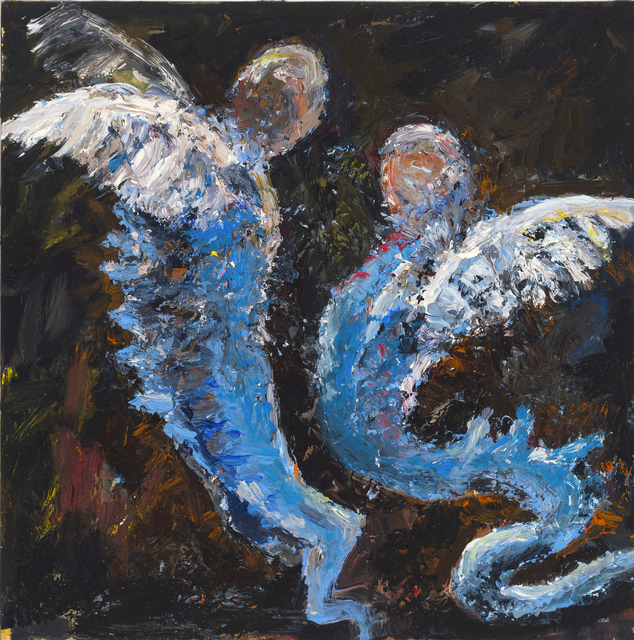 , 'Two in Flight,' 2017, The Painting Center