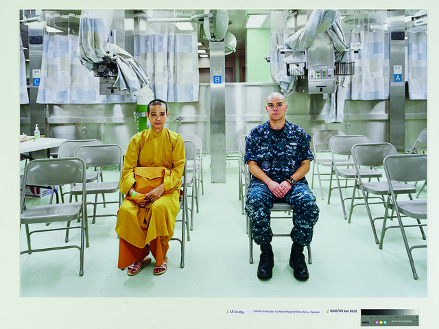 , 'Patient Admission, US Naval Hospital Ship Mercy, Vietnam,' 2010, Singapore Art Museum (SAM)