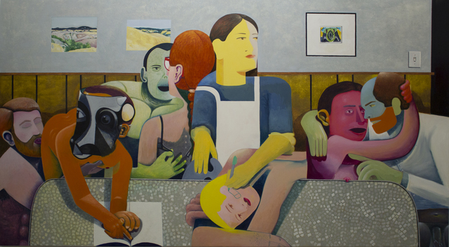 , 'The Dinner Table,' 2018, New York Academy of Art