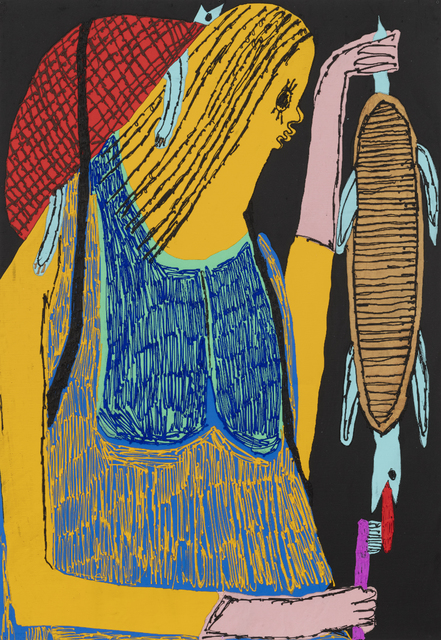 , 'Scrubbing Turtle II,' 2019, Shulamit Nazarian