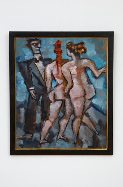 , 'London Circus (Triptych 3/3),' 1979, Hagemeier