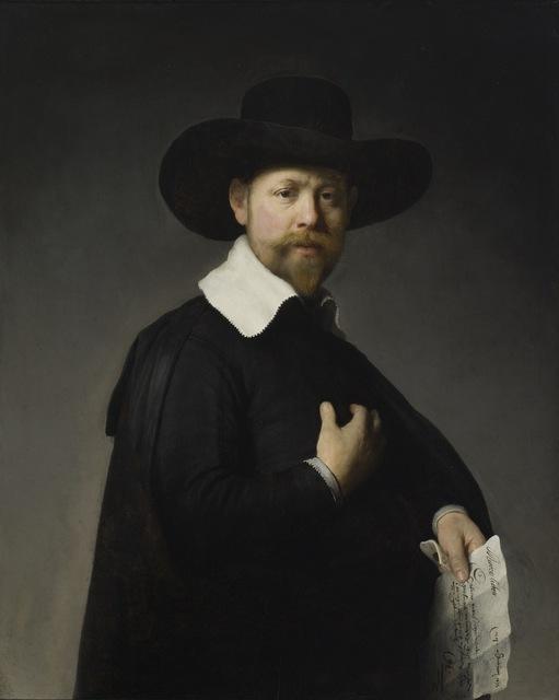 Rembrandt van Rijn, 'Portrait of Marten Looten', 1632, Los Angeles County Museum of Art