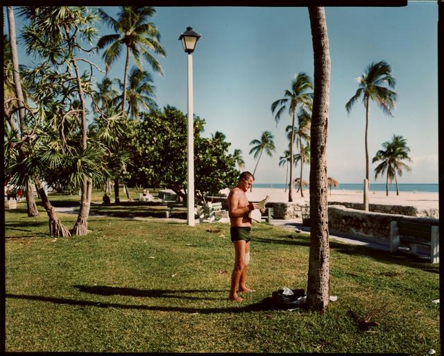 , 'Miami Beach, Florida, November 13,' 1977, Edwynn Houk Gallery