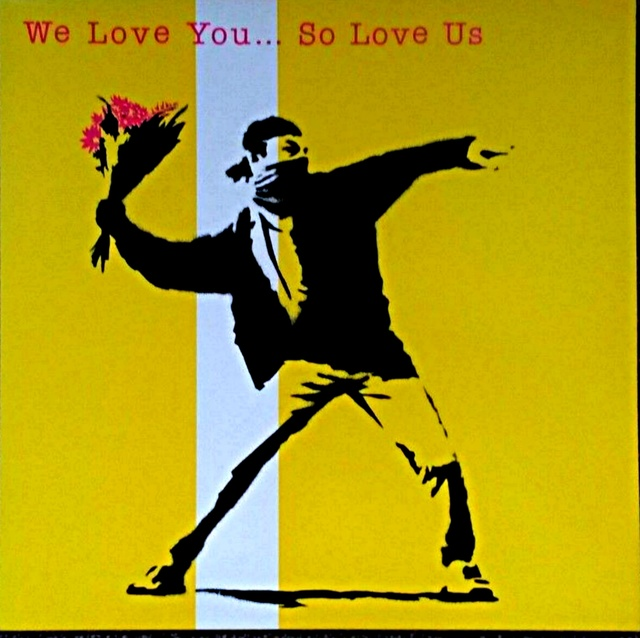 Banksy, 'We Love You So Love Us LP', 2000, Alpha 137 Gallery Auction