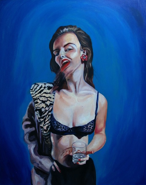, 'Self Portrait 02-14-15,' 2015, Catherine Ahnell Gallery