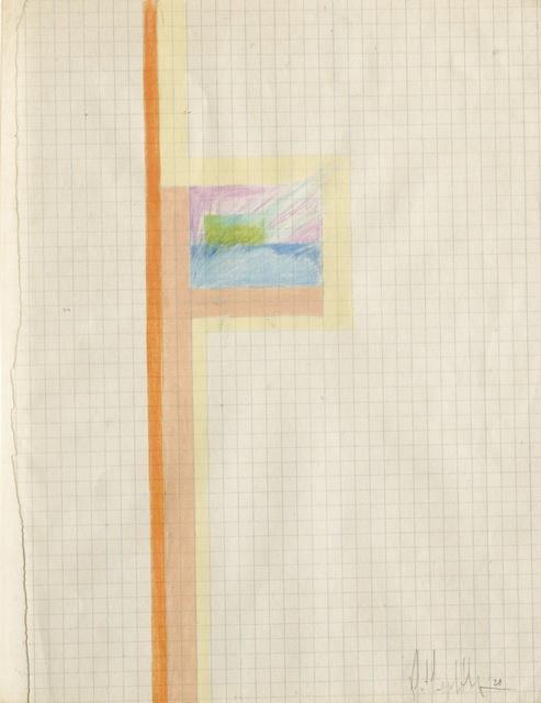 Robert Mapplethorpe, 'Untitled (Art School Drawing)', 1968, Sotheby's