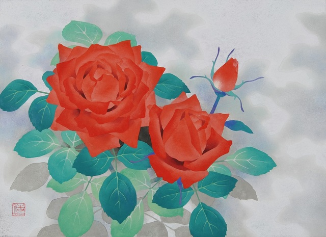 , 'Red Roses,' 2018, SEIZAN Gallery