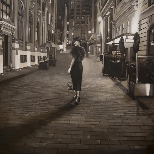 , 'O'Connell Street,' 2018, Black Door Gallery
