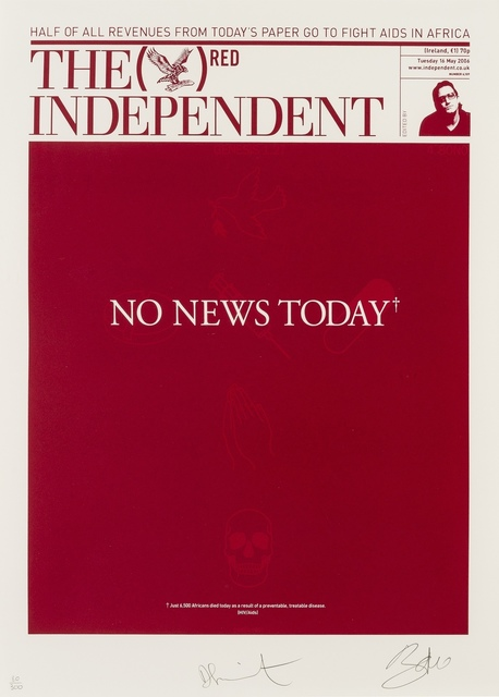 Damien Hirst, 'The Independent (RED)', 2007, Forum Auctions