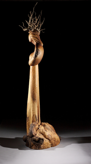 , 'Asherah Tree Root Goddess VIII, wood sculpture,' 2006, Hostetler Gallery