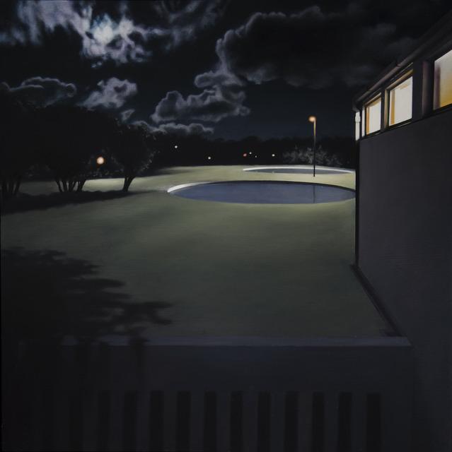 , 'Night Pool III,' 2017, Barnard