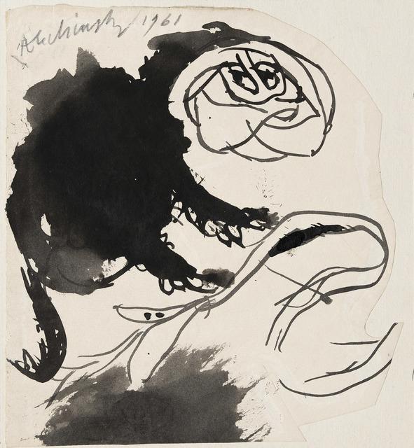 , 'Cul de lampe,' 1961, Galerie Lelong & Co.