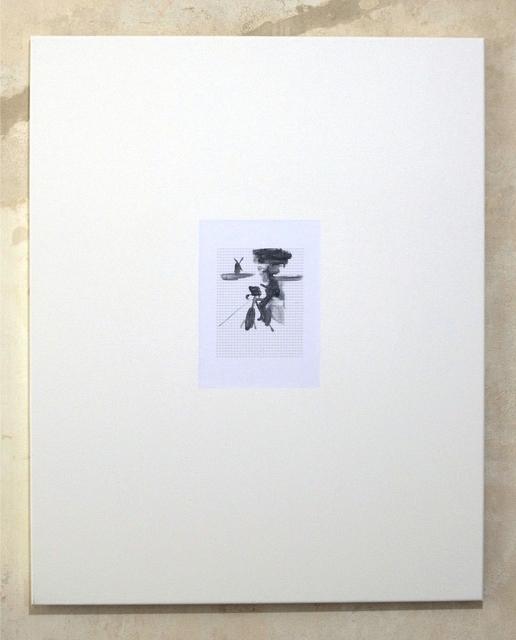 , 'Untitled (Mondriaan auf dem Fahrrad malen #2),' 2012, Clages