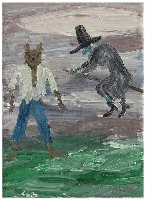 , 'Bruja y Hombre Lobo,' 2013, Anna Zorina Gallery