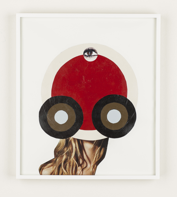 , 'Siblings of the Sun (Third Eye Double Red),' 2015, Carrie Secrist Gallery