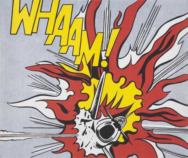 Roy Lichtenstein, 'Whaam!', 1963, Print, Offset lithograph on paper (2), Julien's Auctions