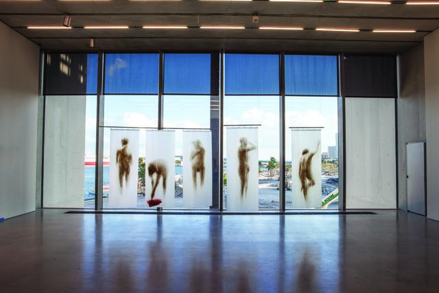Oscar Muñoz, 'Cortinas de baño,' 1994, Pérez Art Museum Miami (PAMM)