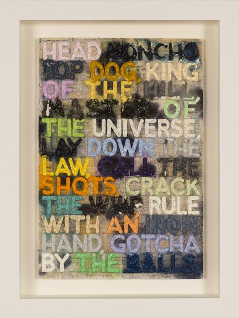 , 'Head Honcho,' 2012, Taylor | Graham