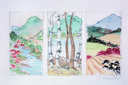 , 'Maine Mountain Study,' , Pucker Gallery