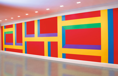 Sol LeWitt, 'Wall Drawing #1093: Bars of Color,' , Sotheby's: Contemporary Art Day Auction
