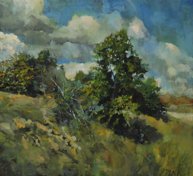 , 'Dune Top Trees,' , Water Street Gallery