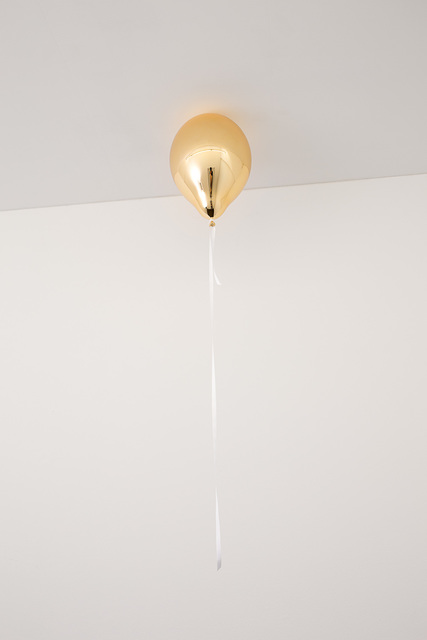 , 'Orange Mirror Balloon (light),' 2017, 303 Gallery