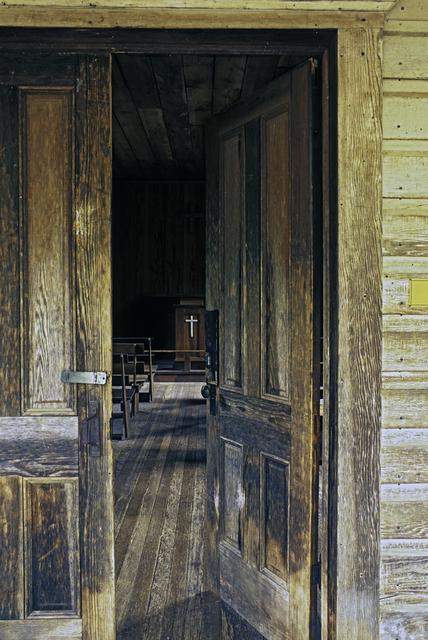 , 'Church Door Golden OR,' 2008, Untitled 2.0