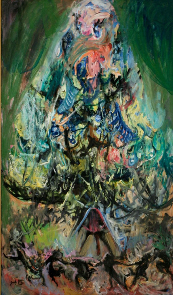 Hyman Bloom, 'The Christmas Tree,' ca. 1983, ACA Galleries