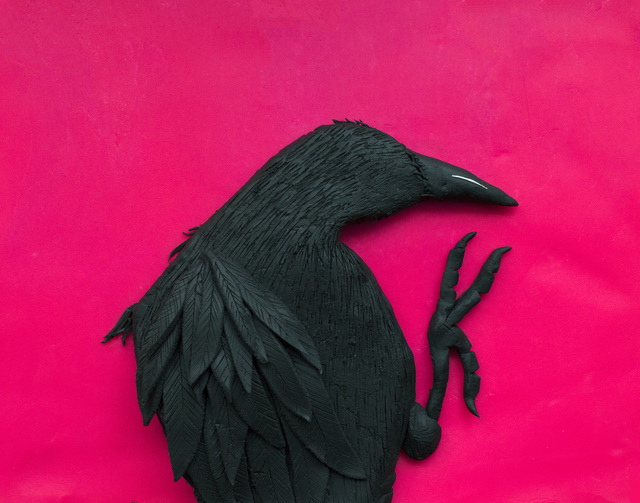 Eleanor Macnair, 'Original photograph: Erimo Cape, 1976, from 'Solitude of Ravens' by Masahisa Fukase rendered in Play-Doh ', 2019, Atlas Gallery