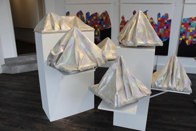 , 'Berge,' 2019, Art Signé