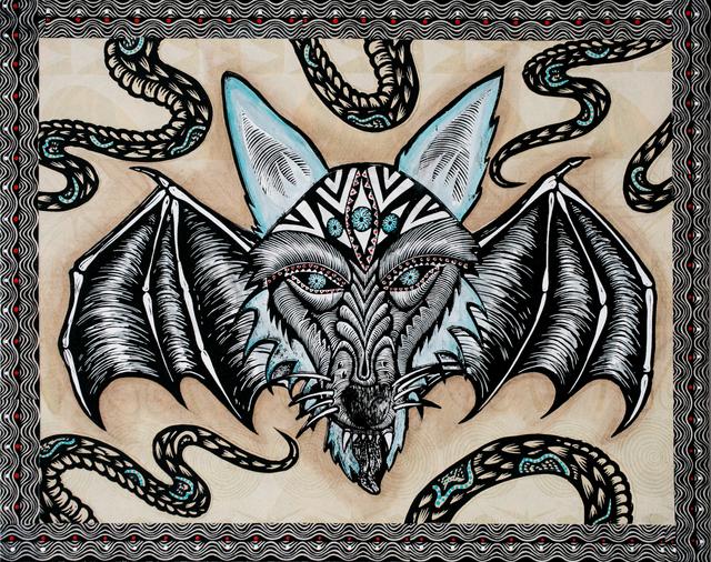 , 'Wolfbat of the South,' 2018, Paradigm Gallery + Studio