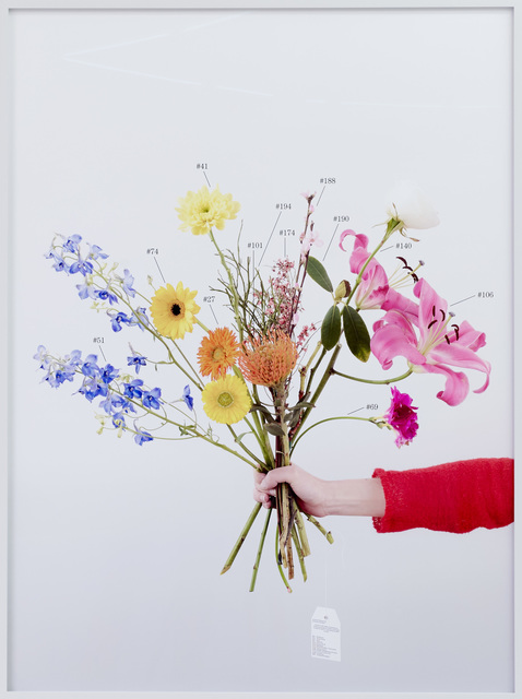 , 'A Critic's Bouquet by Vincenzo Latronico for the editor,' 2015, Kadel Willborn