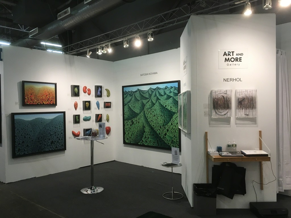 Booth #110: Art and More Gallery with the Satoshi Koyama space at Artexpo New York 2017