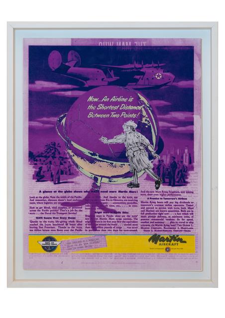 Alyazia Bint Nahyan, 'Bon Voyage - Martin Aircraft', 2017, Janet Rady Fine Art