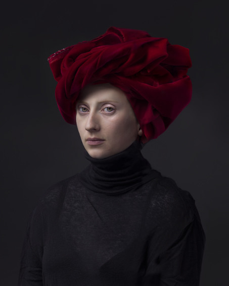 , 'Red Turban,' 2015, Amstel Gallery