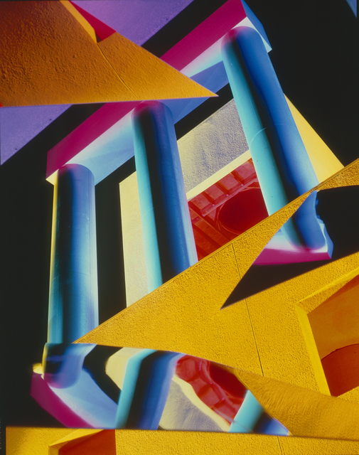 Barbara Kasten, 'Architectural Site 8, Loyola Law School, Los Angeles, CA, December 21', 1986, Photography, Cibachrome, Kadel Willborn