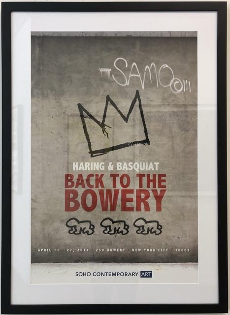 Jean-Michel Basquiat, 'Back to the Bowery', 2014, Soho Contemporary Art