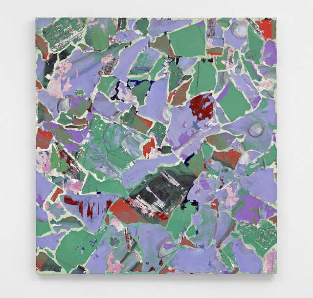 , 'Modern Paintings no. A26, (green, purple, blue and grey abstract, Manchester, April 1999),' , Tanya Leighton