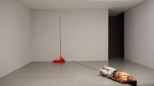 , 'Línea los de abajo ,' 2015, Barbara Thumm