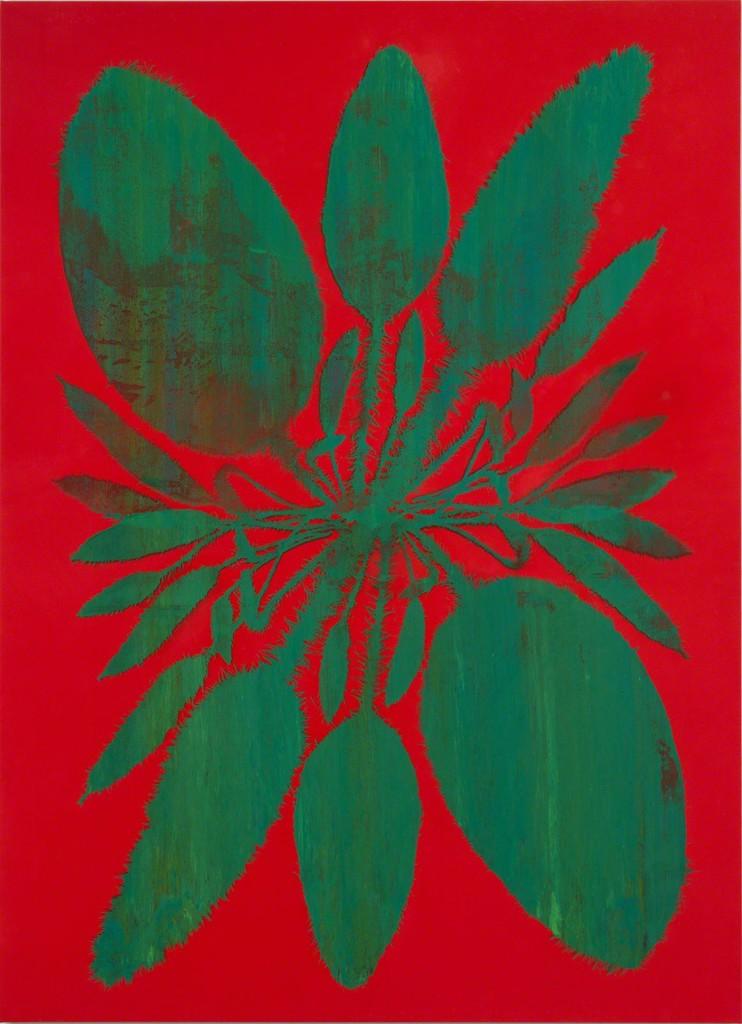 Philip Taaffe, 'Double Acrosticum (Vermilion),' 2014, Luhring Augustine