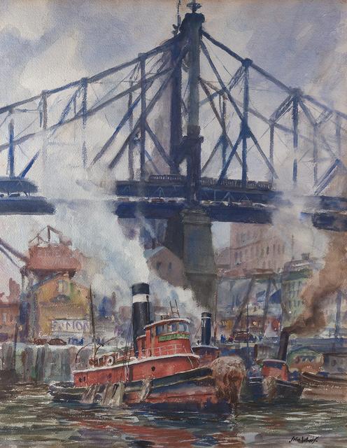 , 'Queensboro Bridge,' , Questroyal Fine Art