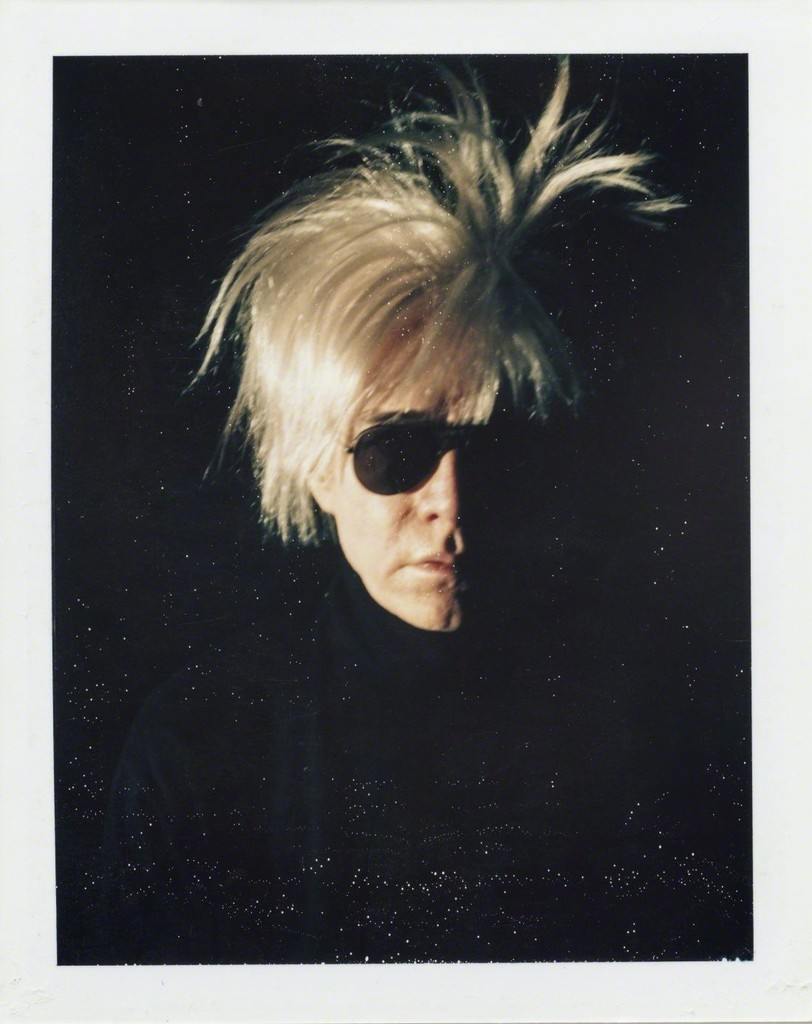 Andy Warhol - Self Portrait in Fright