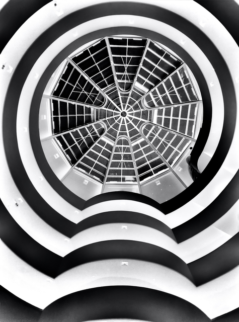 , 'Inverted Guggenheim,' 2020, Andrew Prokos Gallery