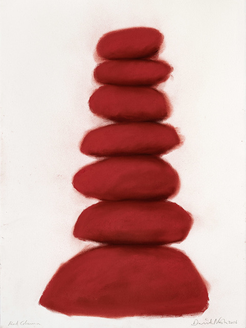, 'Red column,' 2016, Galerie Lelong & Co.