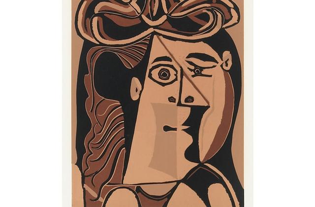 , 'Tête de femme au chapeau,' 1962, DIE GALERIE