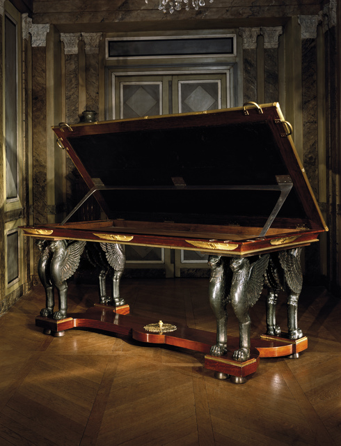 , 'Rack and pinion desk-table from the collection of the Villa Reale di Marlia,' ca. 1800, Steinitz