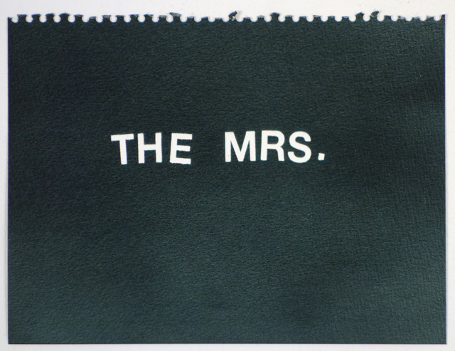 , 'The Mrs. (black),' , Rodolphe Janssen
