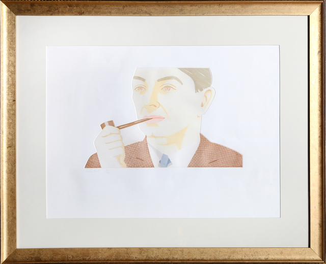 Alex Katz, 'Man with Pipe', 1984, RoGallery
