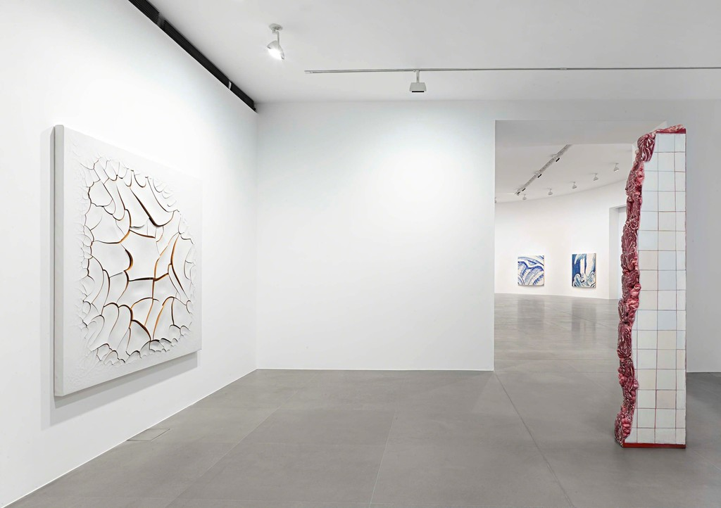 Adriana Varejão: Azulejão, Gagosian Gallery Rome. 1 October  – 10 December, 2016. Photo by Matteo D'Eletto M3 Studio. © Gagosian and the artist.