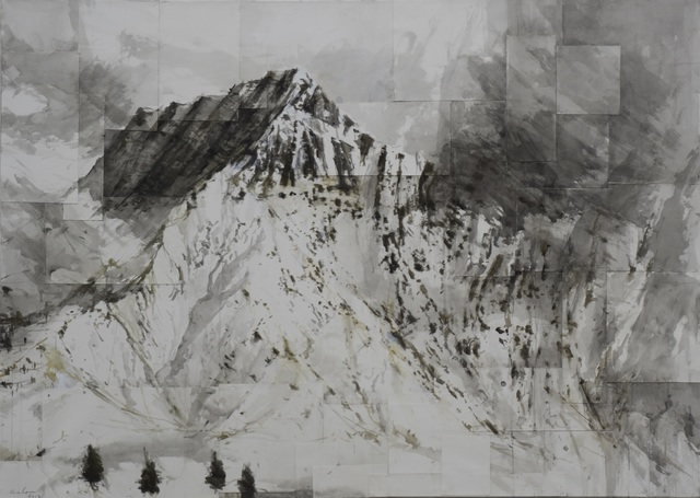 , 'Watercolor Benasque 1, Snow series,' 2017, Artistics